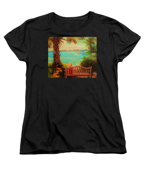 Botanical View Women's T-Shirt (Standard Cut) by Yolanda Rodriguez