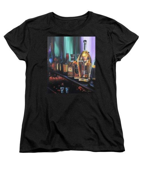 Bourbon Bar Women's T-Shirt (Standard Cut) by Donna Tuten