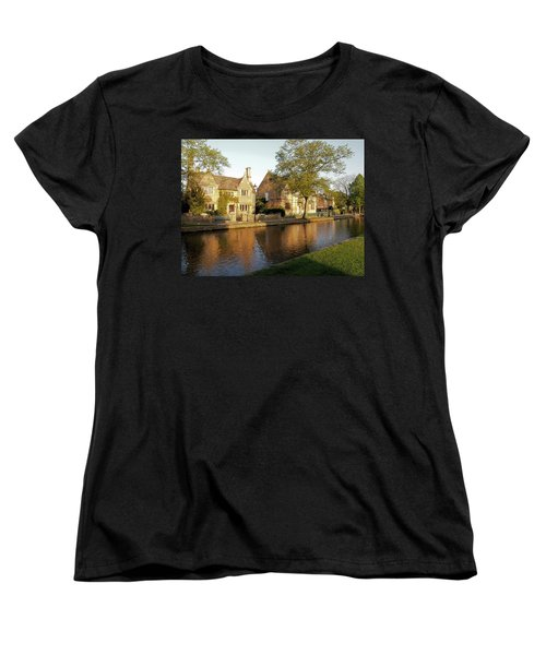 Bourton On The Water Women's T-Shirt (Standard Cut) by Ron Harpham