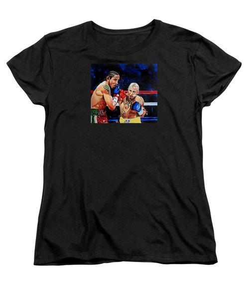 Boxing Women's T-Shirt (Standard Cut) by Raymond Perez