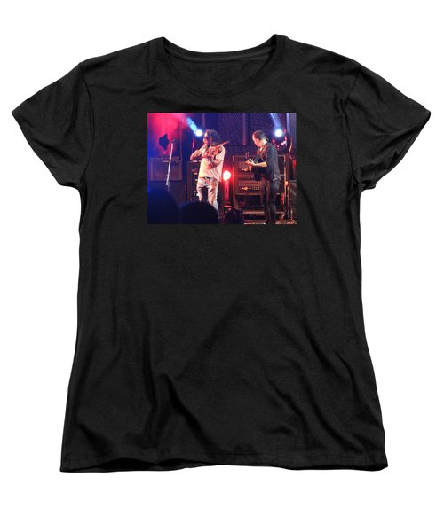 Women's T-Shirt (Standard Cut) featuring the photograph Boyd And Dave by Aaron Martens