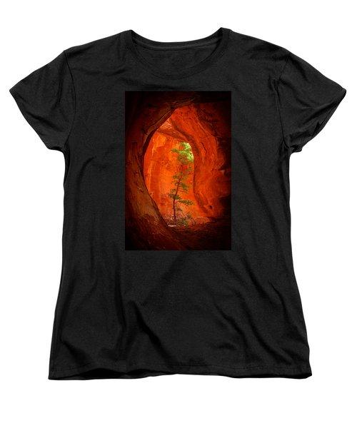 Boynton Canyon 04-343 Women's T-Shirt (Standard Cut) by Scott McAllister
