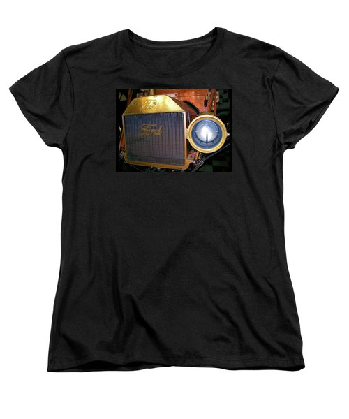 Women's T-Shirt (Standard Cut) featuring the photograph Brass Eye by Larry Bishop