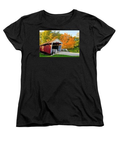 Bridge Of Madison County Women's T-Shirt (Standard Cut) by Sennie Pierson