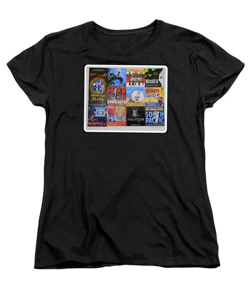 Broadway's Favorites Women's T-Shirt (Standard Cut)