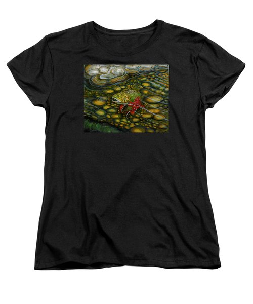 Brook Trout Women's T-Shirt (Standard Cut) by Steve Ozment
