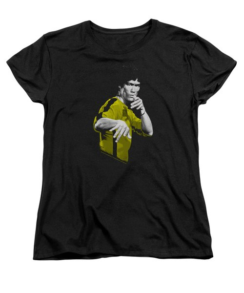 Bruce Lee - Suit Of Death Women's T-Shirt (Standard Cut) by Brand A
