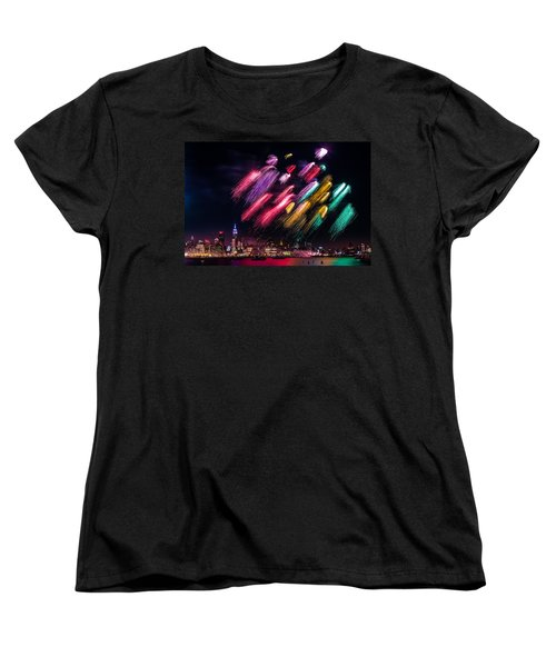 Brushes Women's T-Shirt (Standard Cut) by Mihai Andritoiu