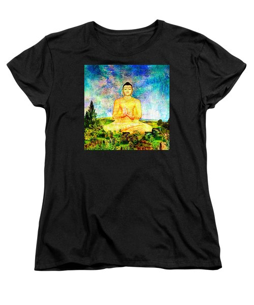 Buddha Women's T-Shirt (Standard Cut) by Ally  White