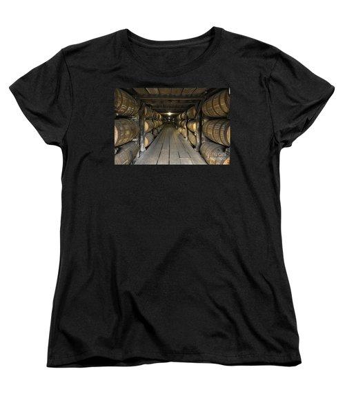 Buffalo Trace Rick House - D008610 Women's T-Shirt (Standard Cut) by Daniel Dempster