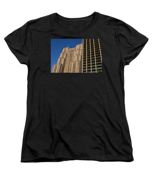 Building Blocks Women's T-Shirt (Standard Cut) by Shawn Marlow