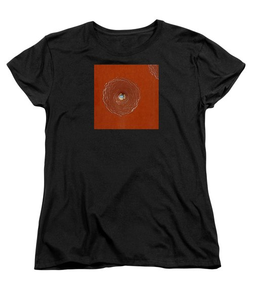 Bullet Hole Patterns Women's T-Shirt (Standard Cut) by Art Block Collections