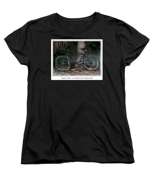 Women's T-Shirt (Standard Cut) featuring the photograph Bumpy Ride by Mariarosa Rockefeller