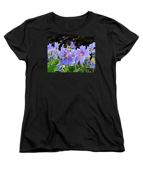 Women's T-Shirt (Standard Cut) featuring the photograph Bunches by Clare Bevan