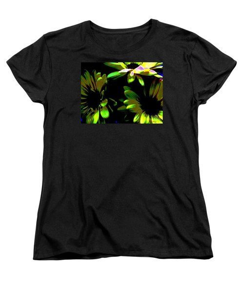 Women's T-Shirt (Standard Cut) featuring the photograph Burst by Greg Patzer