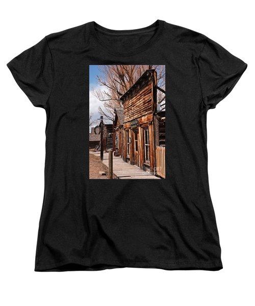 Business Block Women's T-Shirt (Standard Cut) by Sue Smith