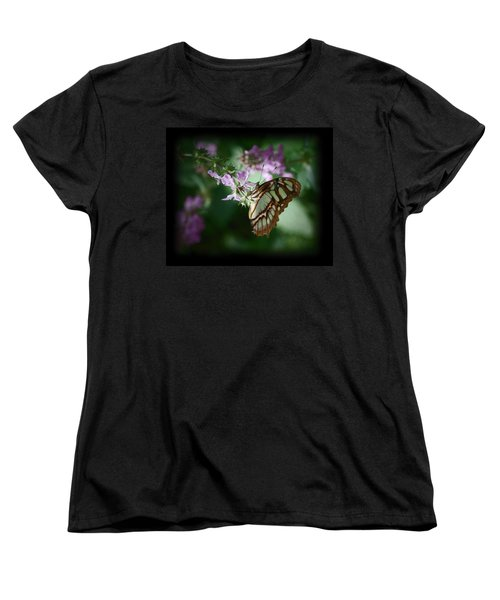 Women's T-Shirt (Standard Cut) featuring the photograph Butterfly 7 by Leticia Latocki