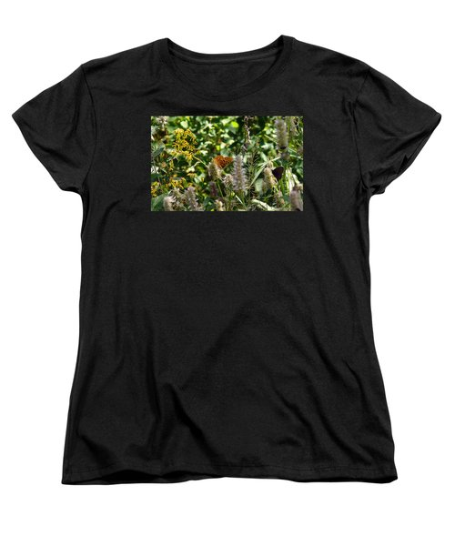 Butterfly Buffet Women's T-Shirt (Standard Cut) by Meghan at FireBonnet Art