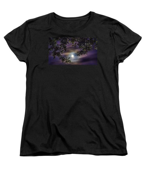 By The Moonlight Women's T-Shirt (Standard Cut) by Rob Sellers