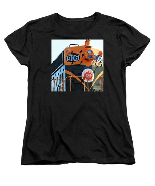 C N R Train 906 Women's T-Shirt (Standard Cut) by Barbara Griffin