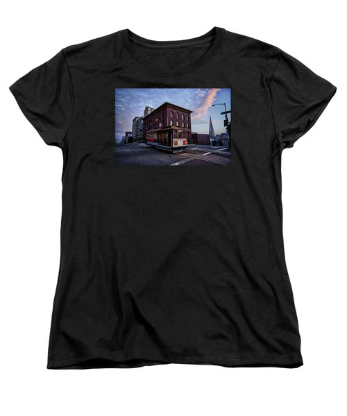Cable Car Women's T-Shirt (Standard Cut)