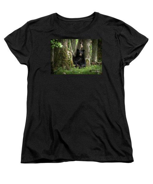 Cades Cove Bear Women's T-Shirt (Standard Cut)