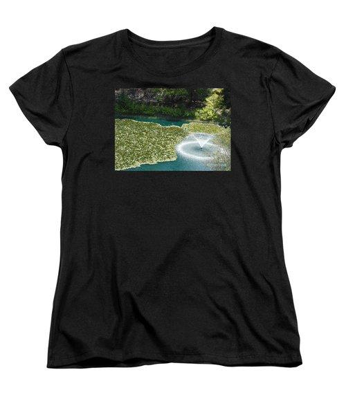 Calistoga Summer Women's T-Shirt (Standard Cut) by Mini Arora