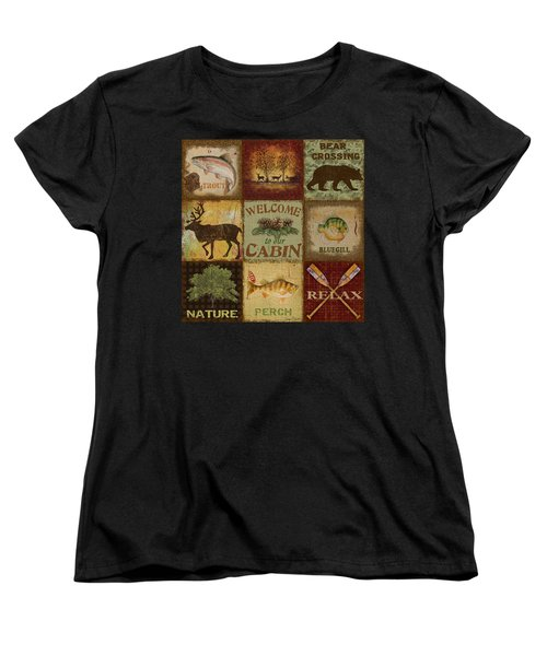 Call Of The Wilderness Women's T-Shirt (Standard Cut) by Jean Plout