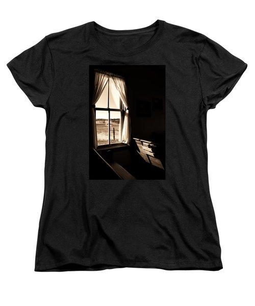 Women's T-Shirt (Standard Cut) featuring the photograph Call To Worship by Jim Garrison