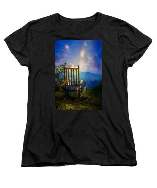 Just Imagine Women's T-Shirt (Standard Cut) by John Haldane