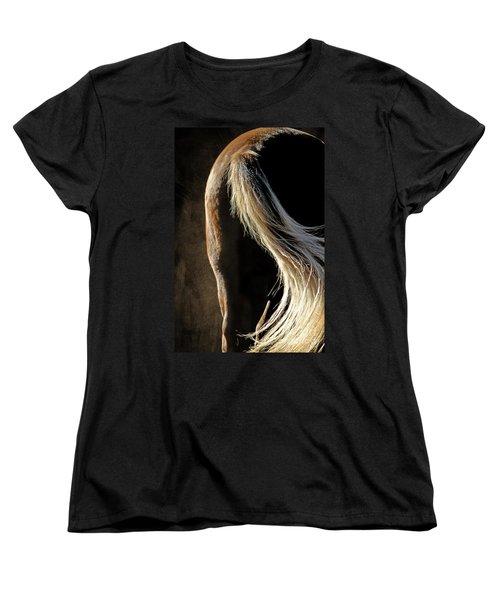 Calm Awareness 3 Vignette Women's T-Shirt (Standard Cut) by Michelle Twohig