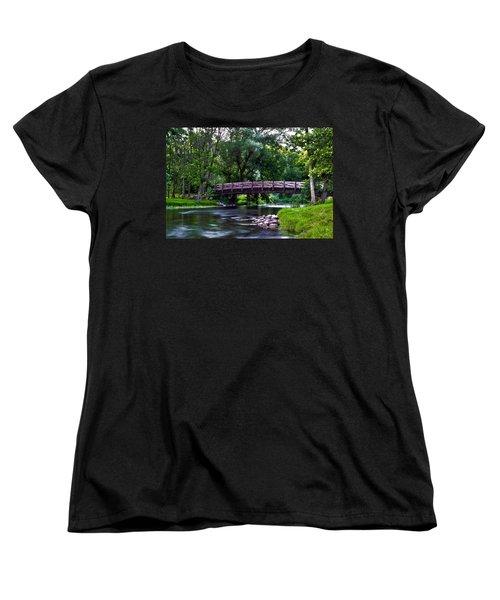 Calm Waters Women's T-Shirt (Standard Cut) by James  Meyer