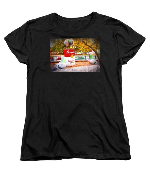 Campbell's Soup Women's T-Shirt (Standard Cut) by Bill Howard