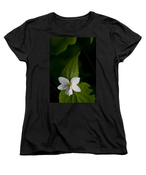 Canada Violet Women's T-Shirt (Standard Cut) by Melinda Fawver