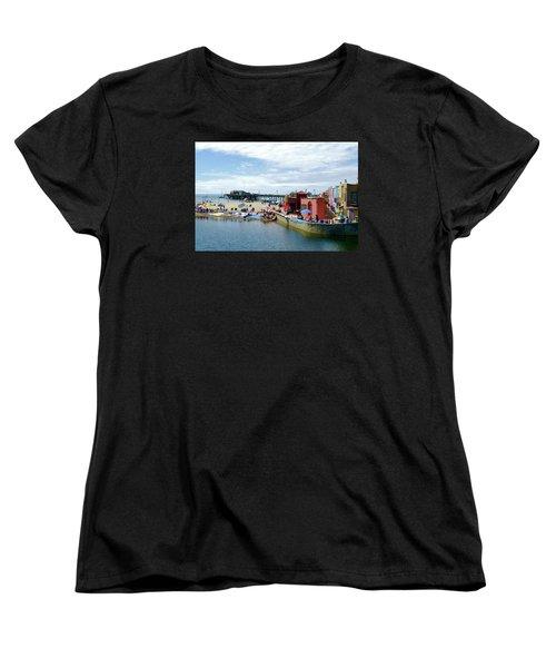 Capitola Begonia Festival Weekend Women's T-Shirt (Standard Cut) by Amelia Racca