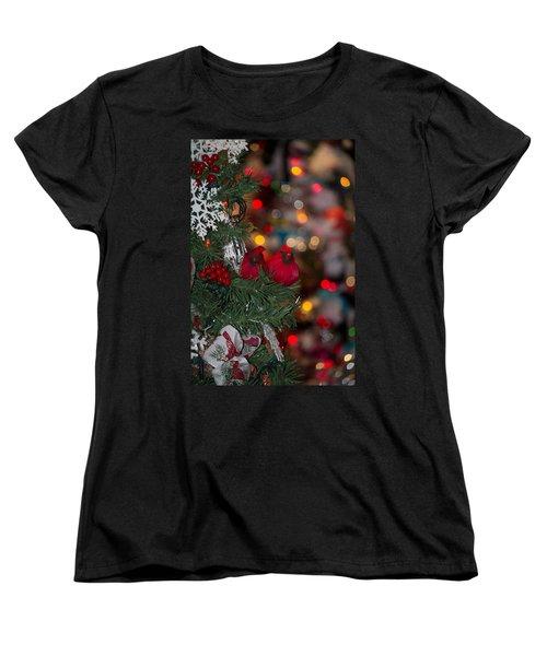 Cardinals Women's T-Shirt (Standard Cut) by Patricia Babbitt