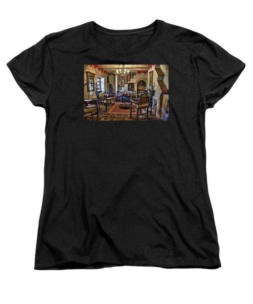 Carmel Mission 6 Women's T-Shirt (Standard Cut) by Ron White