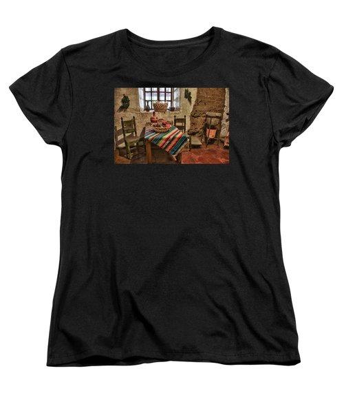 Carmel Mission 7 Women's T-Shirt (Standard Cut) by Ron White