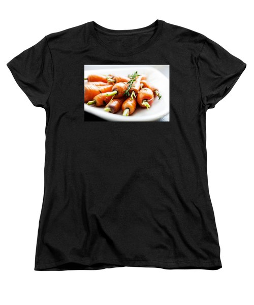 Carrots Women's T-Shirt (Standard Cut) by Kati Molin