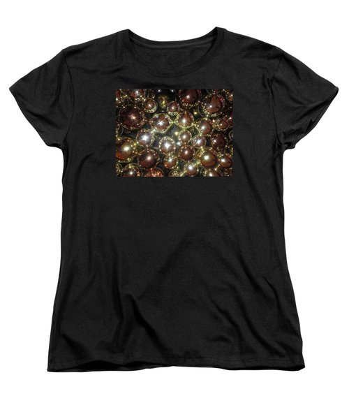 Women's T-Shirt (Standard Cut) featuring the photograph Casino Sparkle Interior Decorations by Navin Joshi