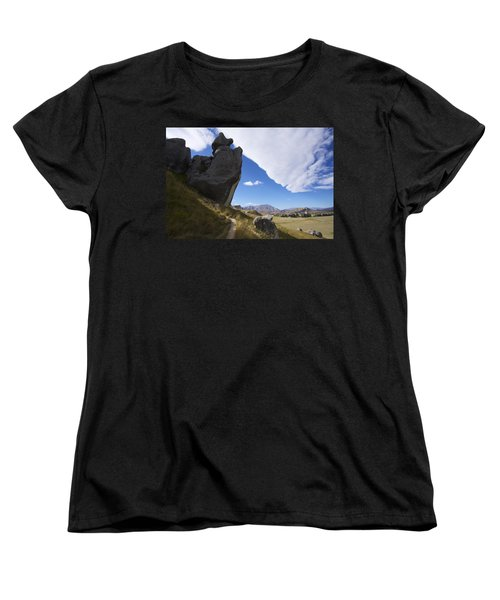 Castle Hill #7 Women's T-Shirt (Standard Cut) by Stuart Litoff