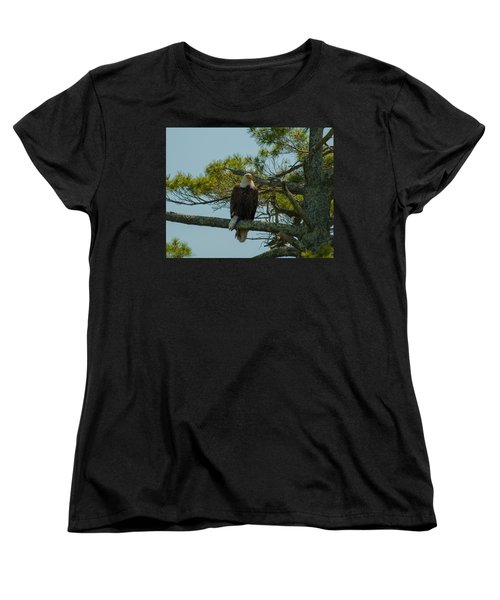Catch Of The Day Women's T-Shirt (Standard Cut) by Brenda Jacobs
