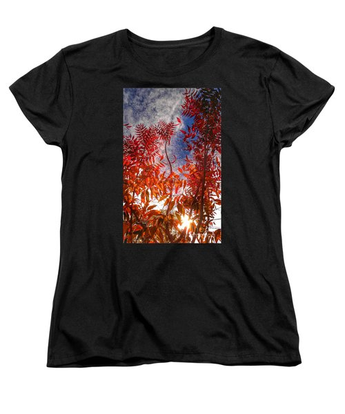 Women's T-Shirt (Standard Cut) featuring the photograph Catharsis by CML Brown