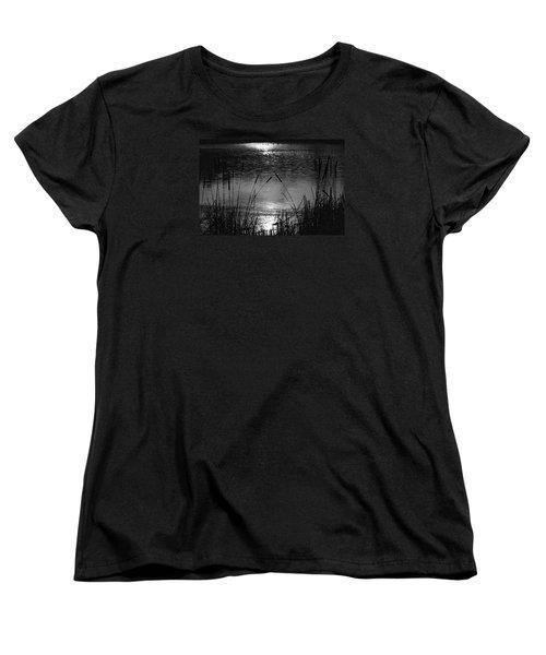 Cattails 3 Women's T-Shirt (Standard Cut) by Susan  McMenamin