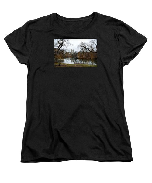 Central Park And San Remo Building In The Background Women's T-Shirt (Standard Cut) by RicardMN Photography