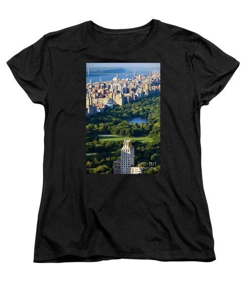Central Park Women's T-Shirt (Standard Cut) by Brian Jannsen