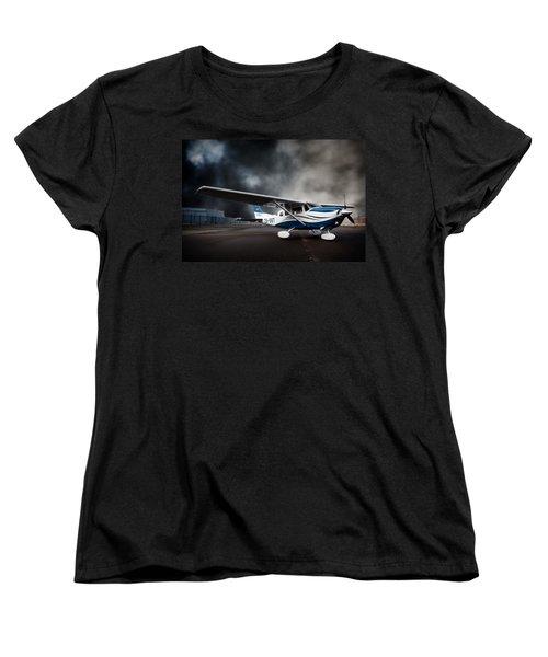 Cessna Ground Women's T-Shirt (Standard Cut) by Paul Job