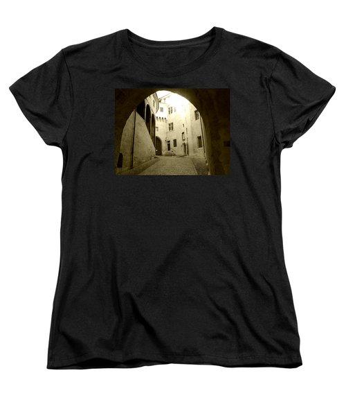 Chambery France Gate Women's T-Shirt (Standard Cut)