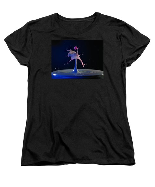 Women's T-Shirt (Standard Cut) featuring the photograph Chaos by Kevin Desrosiers