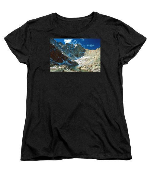 Chasm Lake Women's T-Shirt (Standard Cut) by Eric Glaser